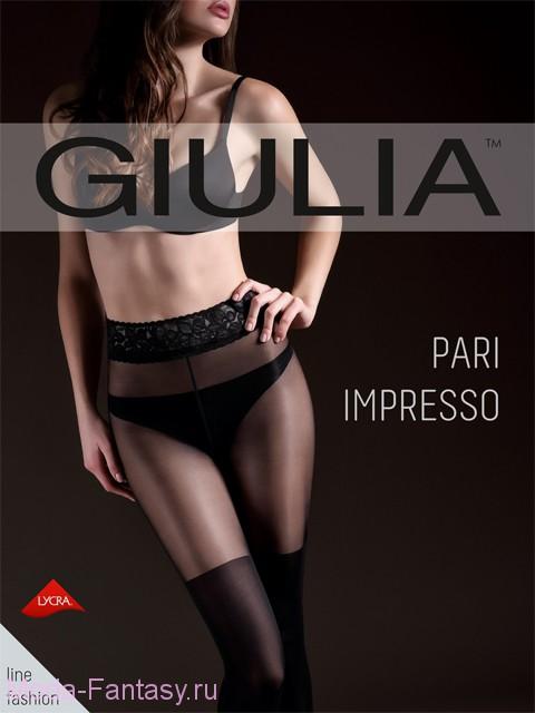 Фантазийные колготки Giulia PARI IMPRESSO