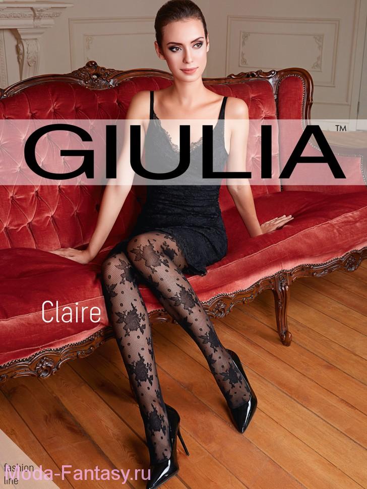 Фантазийные колготки Giulia CLAIRE 01