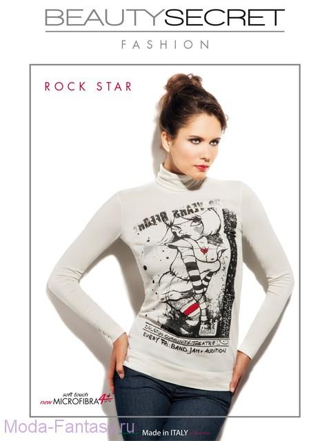 Бесшовная водолазка Beauty Secret ROCK STAR DOLCEVITA MANICA LUNGA