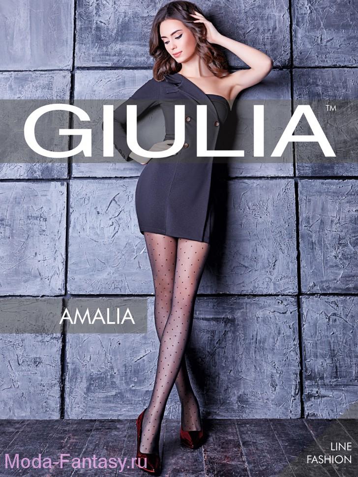 Фантазийные колготки Giulia AMALIA 01