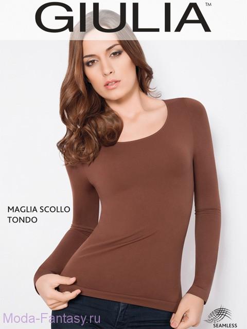 Бесшовная кофта Giulia MAGLIA SCOLLO TONDA MANICA LUNGA