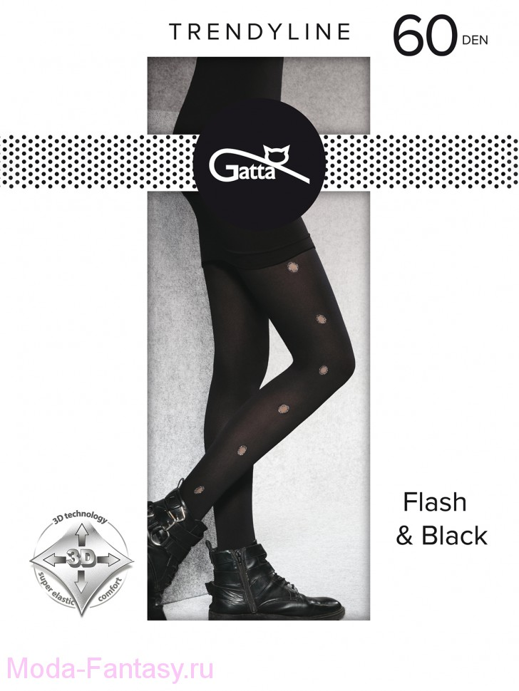 Колготки Gatta FLASH & BLACK 03