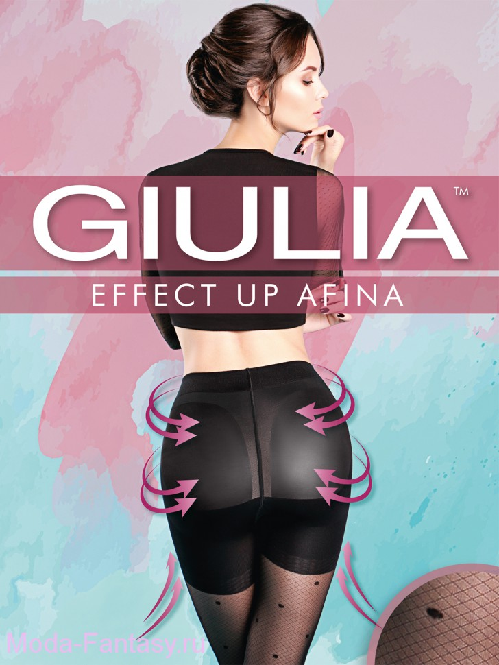 Колготки Giulia EFFECT UP AFINA 02