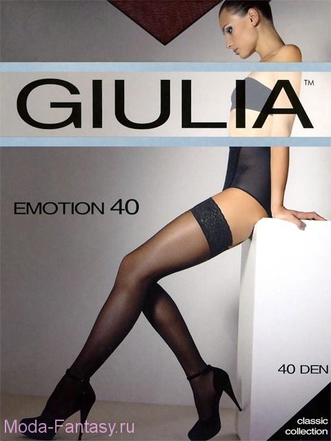 СКИДКА 20% в ноябре_Чулки Giulia EMOTION 40
