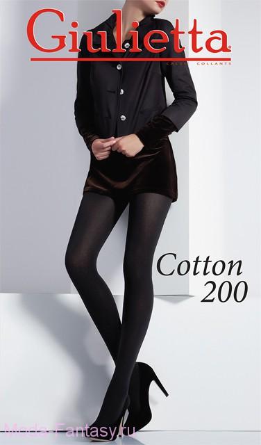 Колготки COTTON 200
